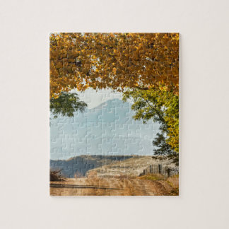 Golden Tunnel Of Love Jigsaw Puzzle