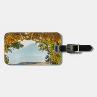 Golden Tunnel Of Love Luggage Tag