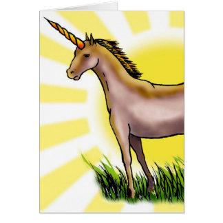Golden Unicorn Cards