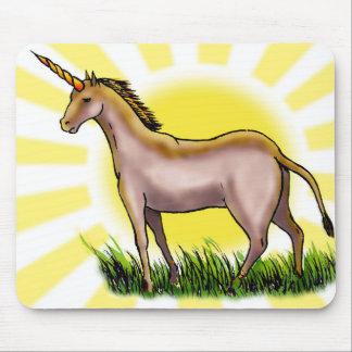Golden Unicorn Mousepad