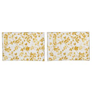 Golden Vines Pillowcase
