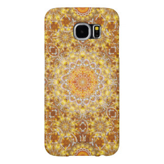 Golden Visions Mandala Samsung Galaxy S6 Cases