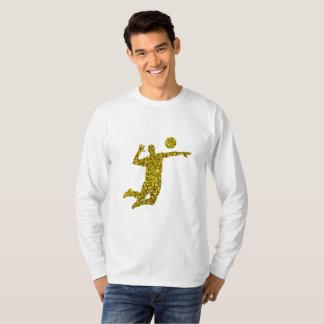 Golden Volleyball Long Sleeve T-Shirt