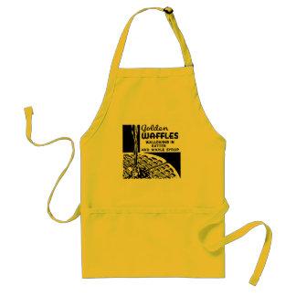 Golden Waffles Breakfast Standard Apron