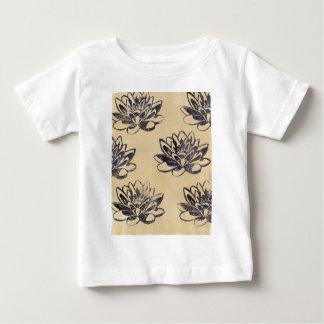 Golden Water Lilies two Baby T-Shirt