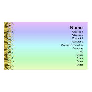 Golden Waves Big Pack Of Standard Business Cards