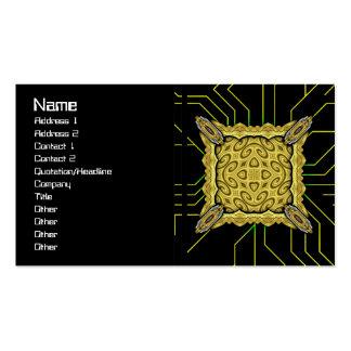 Golden Waves Big Business Card