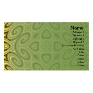 Golden Waves Big Business Cards