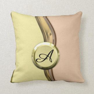 Golden Waves Cushion