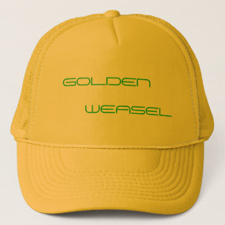 GOLDEN WEASEL HAT