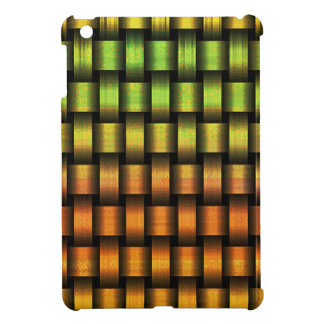 Golden Weave iPad Mini Cover