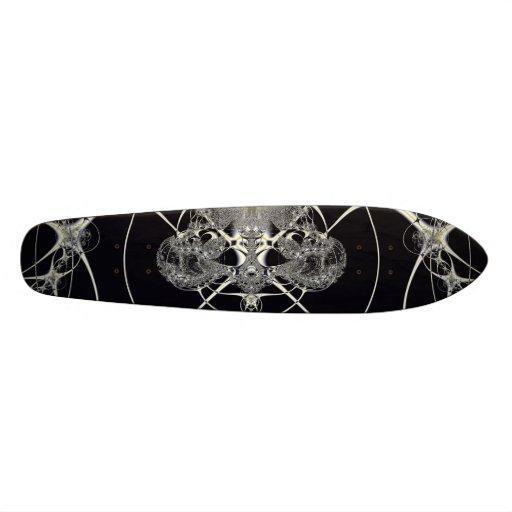 Golden Web Skate Board