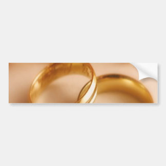 Golden Wedding Bands and Sunflower Bumper Stickers