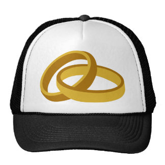 Golden Wedding rings Hat