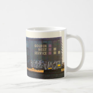 Golden West Graffiti Train Mug