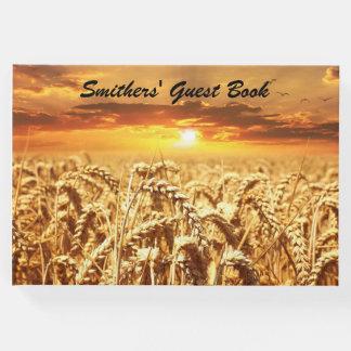 Golden Wheat Field at Sunset