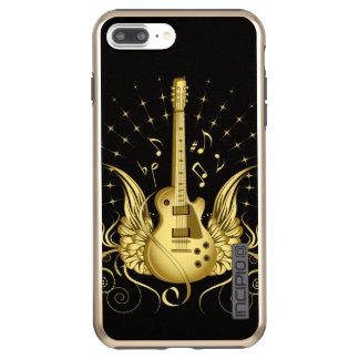 Golden Winged Guitar Incipio DualPro Shine iPhone 8 Plus/7 Plus Case