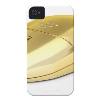 Golden wireless mouse iPhone 4 cover
