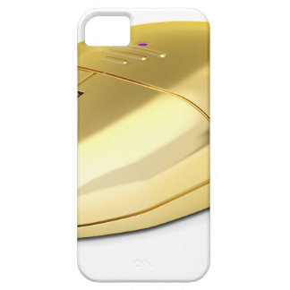 Golden wireless mouse iPhone 5 cover