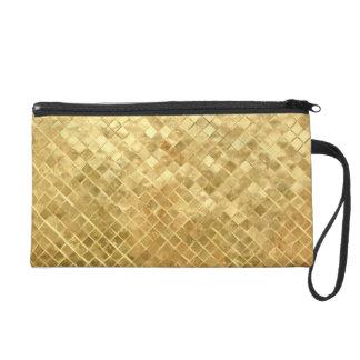 Golden women bag wristlets