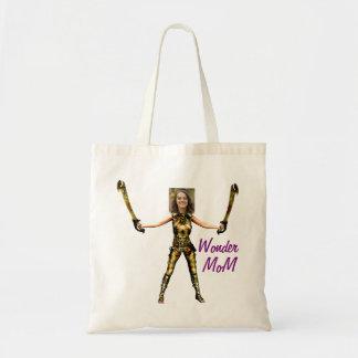 Golden Wonder Woman, 2 Swords - Tote Bag