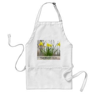 Golden Woodland Daffodils Standard Apron