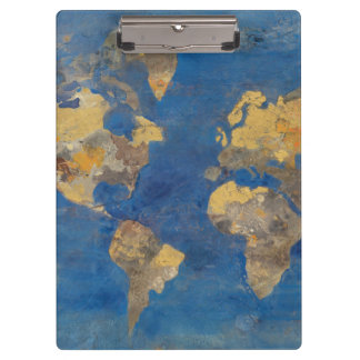 Golden World Clipboard