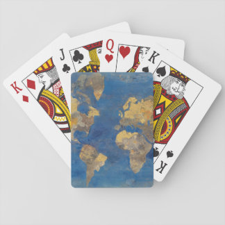 Golden World Playing Cards