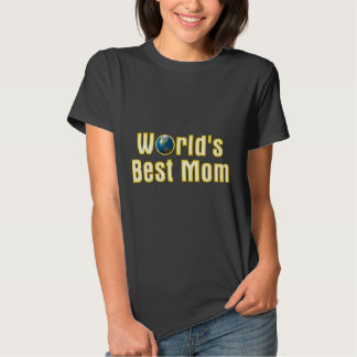 Golden World's Best Mom | Adorable Gift Tshirts