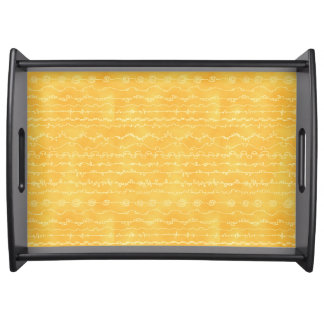 Golden Yellow Canyonlands Tray