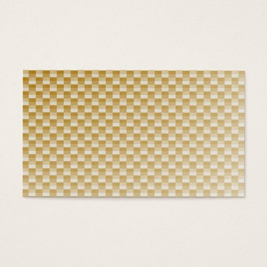 Golden Yellow Carbon Fibre Patterned Business Card