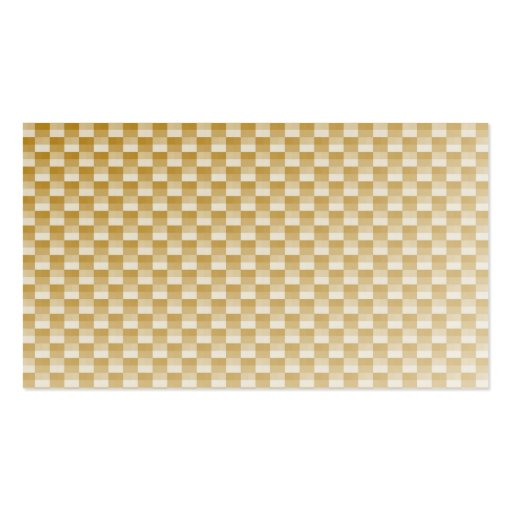 Golden Yellow Carbon Fibre Patterned Pack Of Standard Business Cards