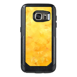 Golden Yellow Crystal Facets OtterBox Samsung Galaxy S7 Case