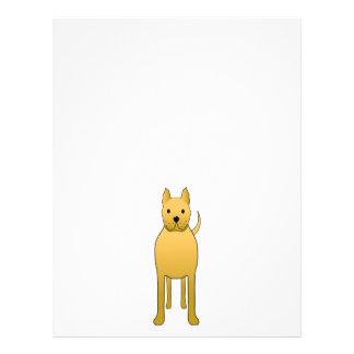 Golden Yellow Dog. Flyers