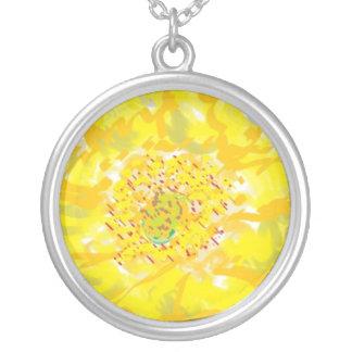 Golden Yellow Flower n Pollen Jewelry