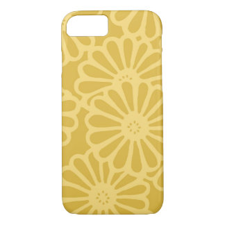 Golden Yellow Flowers iPhone 7 Case