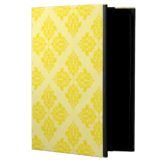 Golden Yellow Moroccan Damask iPad Air Cover
