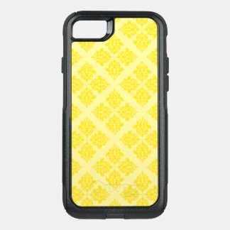 Golden Yellow Moroccan Damask OtterBox Commuter iPhone 8/7 Case
