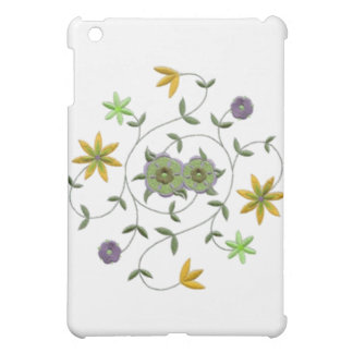 Golden Yellow Sage Spring Flower Garden Case For The iPad Mini