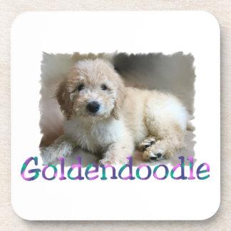 Goldendoodle Art Coasters