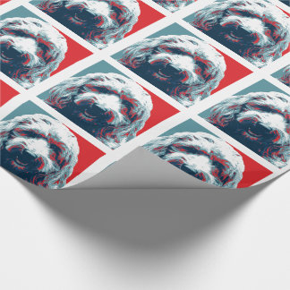 GOLDENDOODLE by Hope Dogs Wrapping Paper