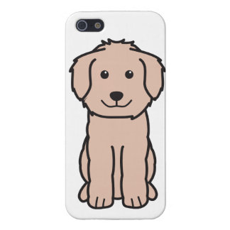 Goldendoodle Dog Cartoon iPhone 5/5S Cover