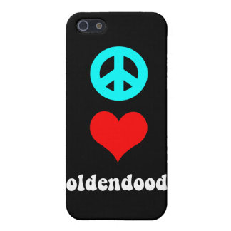 goldendoodle iPhone 5/5S covers