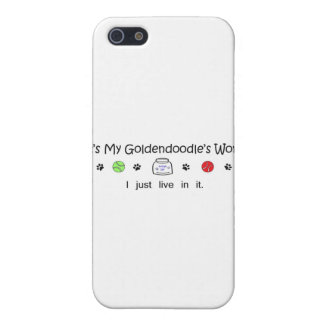 Goldendoodle iPhone 5 Covers