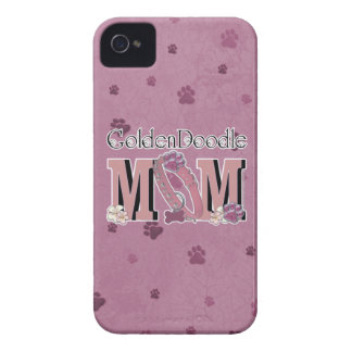 GoldenDoodle MOM iPhone 4 Covers