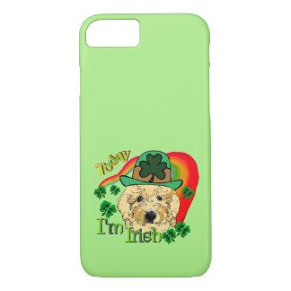 Goldendoodle St Patricks Day iPhone 8/7 Case