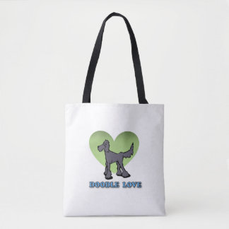 Goldendoodle Themed Reusable Tote