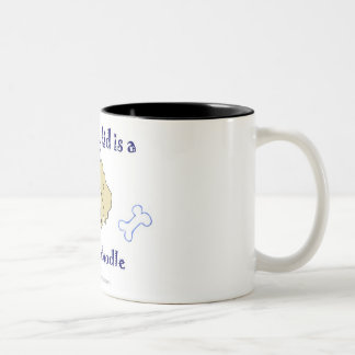 goldendoodle Two-Tone coffee mug