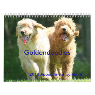 Goldendoodles Calendars