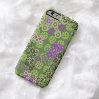 Goldengate Park Vintage Psychedelic Floral Barely There iPhone 6 Case